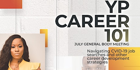 YP Career 101 - July General Body Meeting tickets
