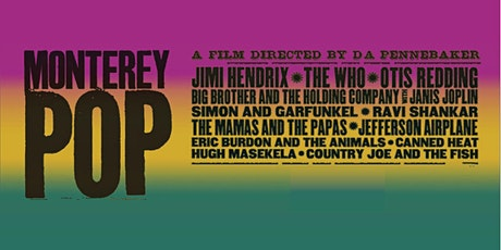 Monterey Pop at the Drive-In - On sale July 13 tickets