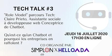 TECH TALK #3 Parcours Tech Inspirant  billets