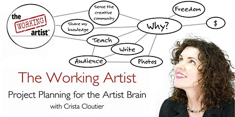 The Working Artist - Project Planning for Artist Brains tickets