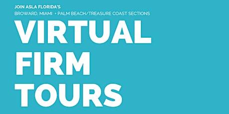 ASLA South Florida Virtual Firm Tours tickets