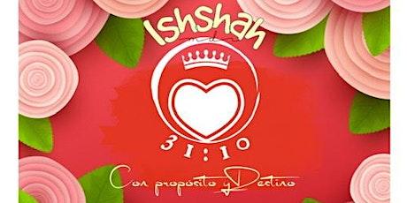 Ishshahs 10 Julio boletos