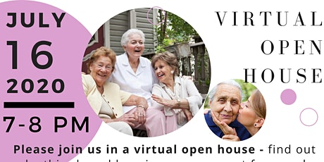 Virtual Open House by Memory Lane Home Living: Alternative Dementia Home tickets