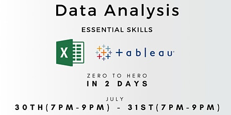 Data Analysis - Essential Skills tickets