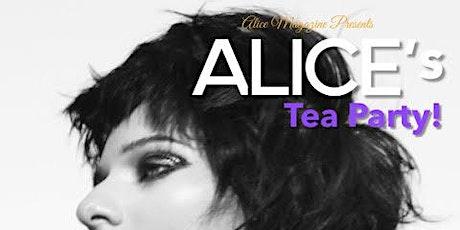 Alice's Tea Party tickets