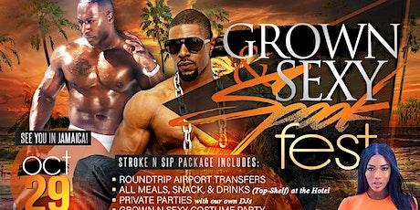 Stroke n Sip- Island getaway to Jamaica tickets
