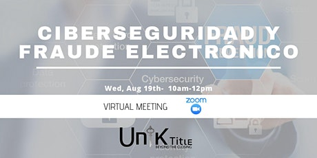 Ciberseguridad y Fraude Electrónico tickets