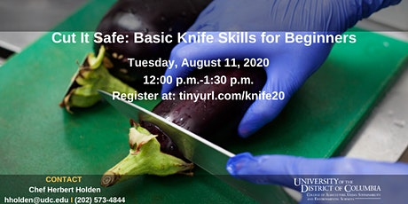 Cut It Safe: Basic Knife Skills for Beginners tickets