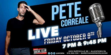 PETE CORREALE (7:00PM / EARLY SHOW ) tickets