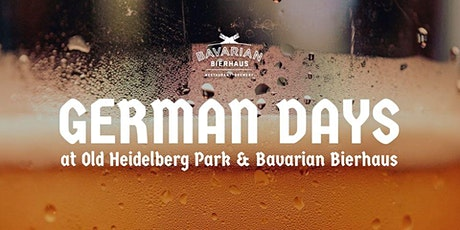 German Days Old Heidelberg Park Table Reservations Sunday, July 26th tickets