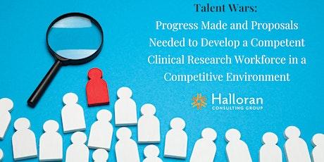 Talent Wars - Virtual Clinical Operations Breakfast tickets