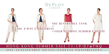 DEPLOY Sustainable Fashion Hong Kong Summer Sale PopUp tickets