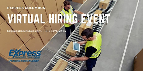 Express Employment Professional Virtual Hiring Event tickets