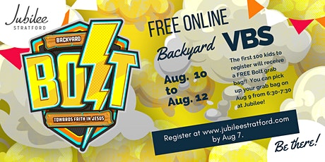 Backyard Bolt VBS tickets