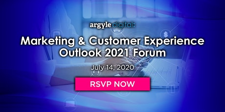 Marketing & Customer Experience Outlook 2021 Forum tickets