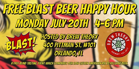 Free Blast Beer Happy Hour tickets