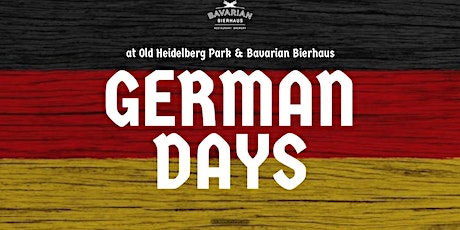 German Days  General Admission Pre Buy tickets
