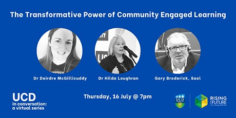 UCD In Conversation: The Transformative Power of Community Engaged Learning tickets