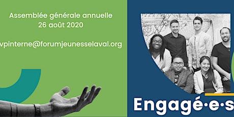 Assemblée générale annuelle - Forum jeunesse Laval billets