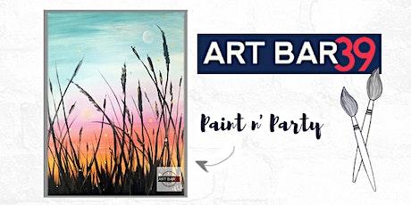 Paint & Sip   ART BAR 39   Public Event   At Dusk tickets