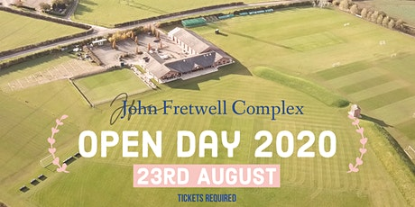 John Fretwell Complex- Open Day 2020 tickets