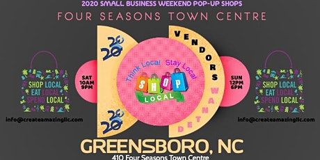 Small Business Popup Shop (Greensboro) tickets