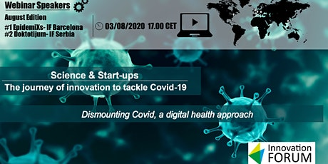 Dismounting Covid: A Digital Health Approach tickets