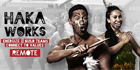 Haka Workshop Online with HAKA WORKS tickets
