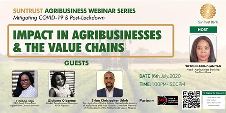 COVID -19 & Post-Lockdown: Impact in Agribusinesses & the Value Chains tickets