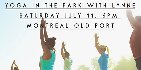 Yoga in the Park - Old Port Montreal tickets
