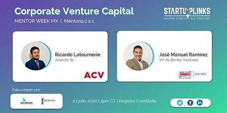 Corporate Venture Capital Mentoring tickets