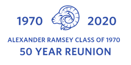 Alexander Ramsey Class of 1970 - 50 (+1) Year Reunion tickets