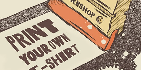 How To Screen Print A T-Shirt At Home tickets