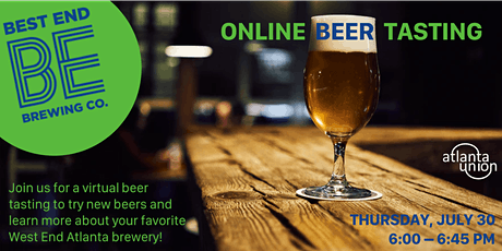 Best End Brewing Co - Guided Beer Tasting with Brewmaster tickets