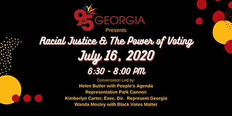 Racial Justice & The Power of Voting tickets