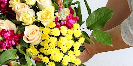 Autumnal Hand Tied Bouquet tickets