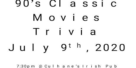 90s Classic Movies Fun Free Trivia tickets