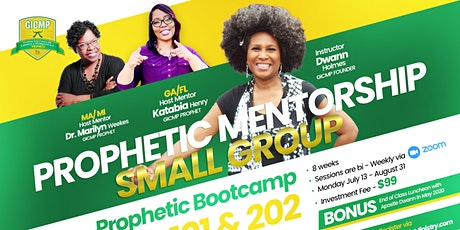 MA| MI Prophetic Mentorship Small Group (Bi-Wkly) tickets