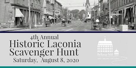 Historic Laconia Scavenger Hunt tickets