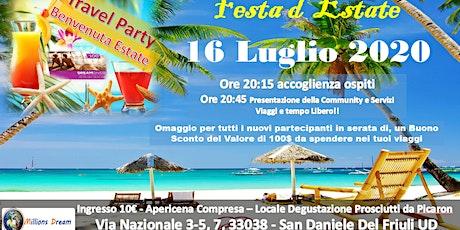 TRAVEL PARTY - 16 LUGLIO - SPECIALE ESTATE 2020 biglietti