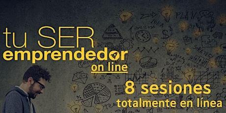 Taller Completo - TU SER Emprendedor (8 sesiones) entradas