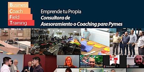 Emprende tu propia Consultora de Coaching o Asesoramiento para Pymes boletos