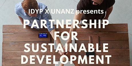 IDYP & UNANZ: SDG 17 Partnership for Sustainable Development tickets