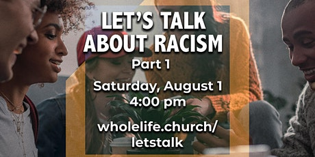 Let's Talk About Racism tickets