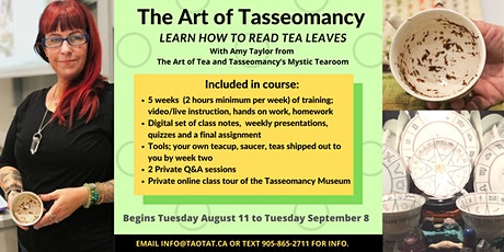 The Art of Tasseomancy; a Novice On-line course with Amy Lou Taylor tickets