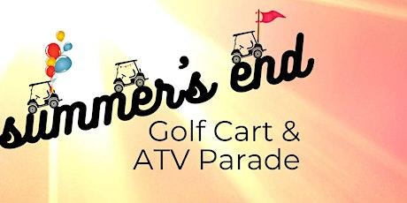 Summer's End Detroit Golf Cart & ATV Parade tickets