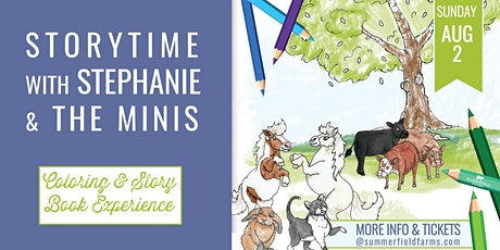 Storytime with Stephanie & The Minis tickets