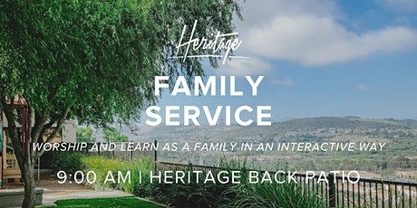 Heritage Christian Fellowship Sunday Family  Service -  9:00 AM tickets