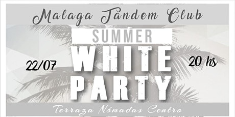 """""""SUMMER WHITE PARTY"""" TERRAZA NÓMADAS CENTRO entradas"""