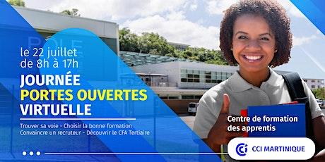Journée portes ouvertes virtuelle au CFA Tertiaire ! billets